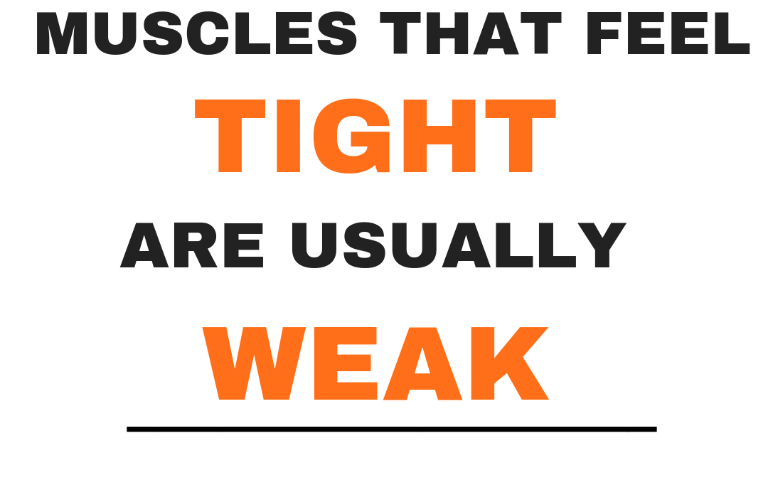 Why are my muscles tight?
