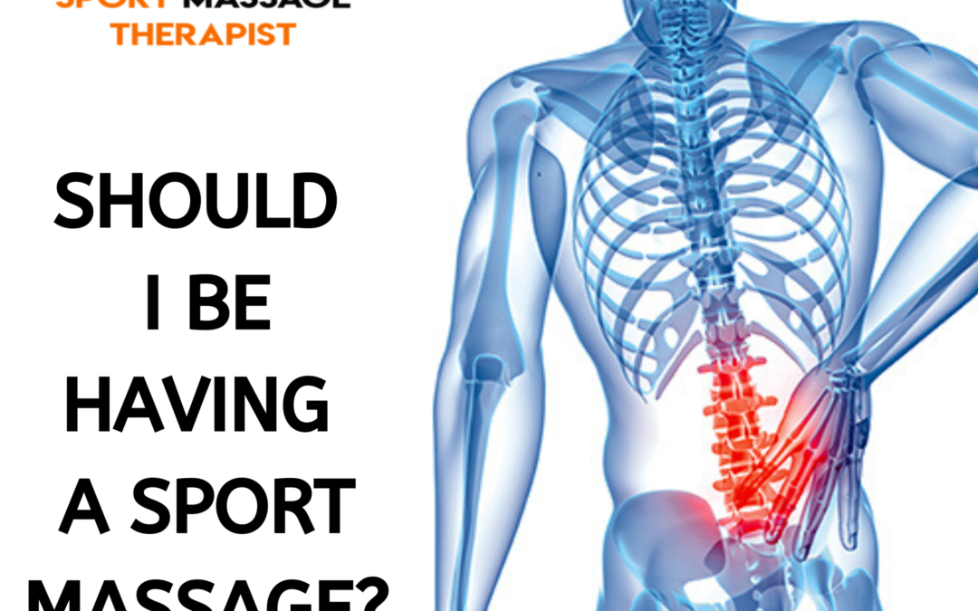 Should I be having a Sports Massage during the Coronarvirus?